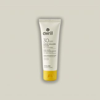 Crème solaire visage spf 30 Certifiée bio 50ml
