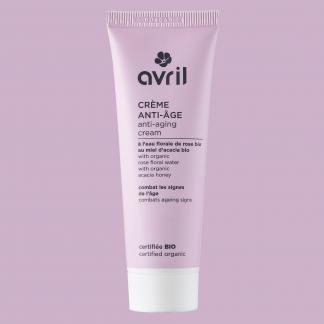 Crème anti-âge bio Avril