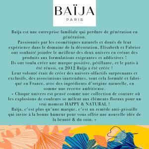 Page marque Baija