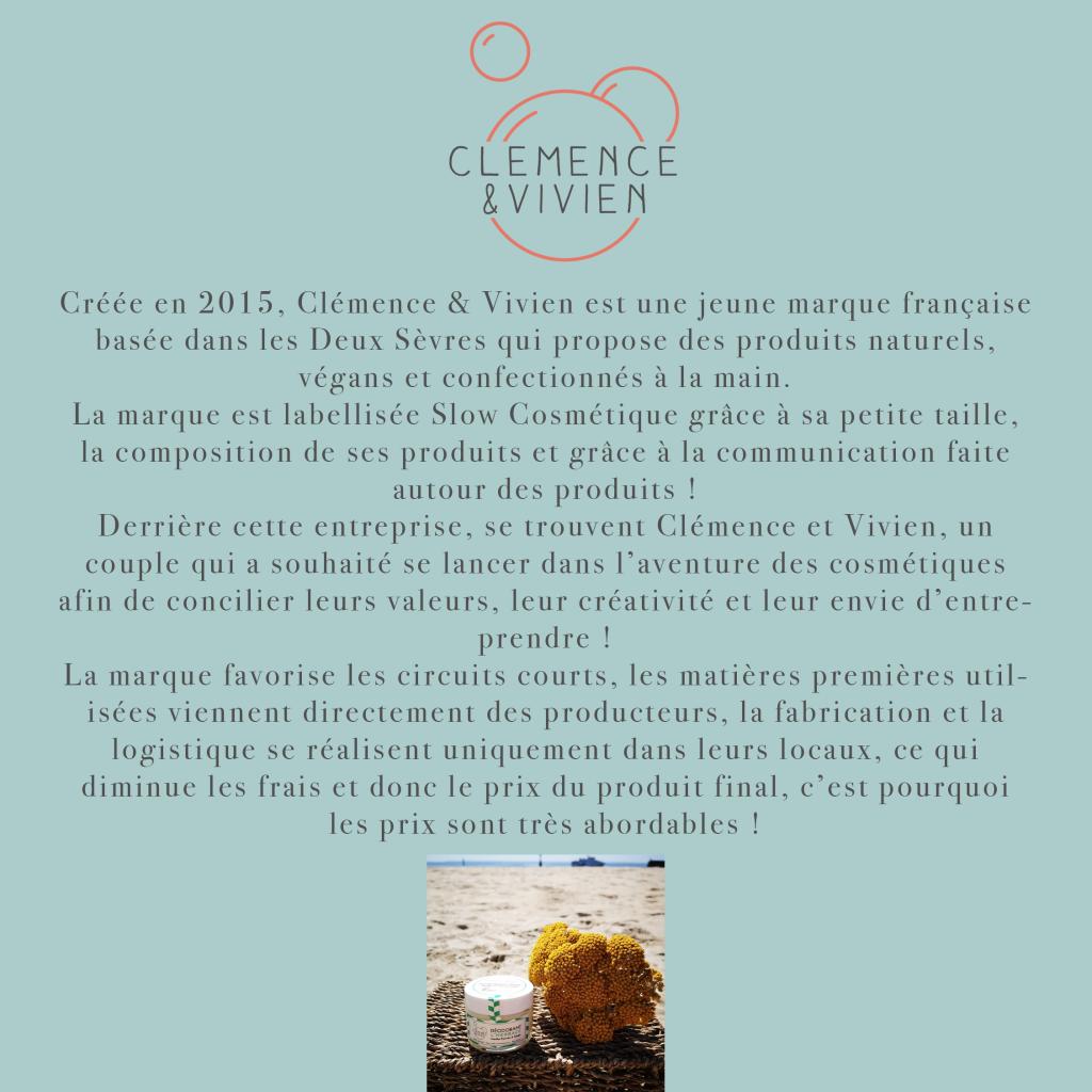 Page marque Clémence & Vivien