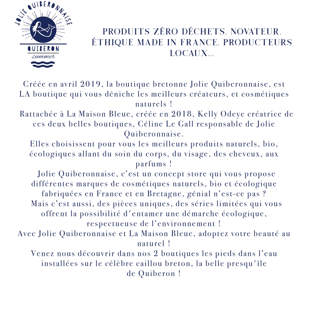 Page Jolie Quiberonnaise