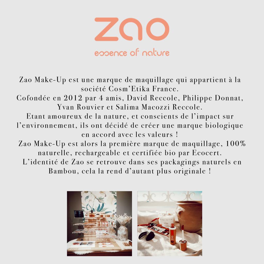 Page marque Zao